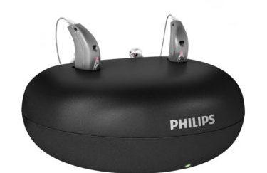 フィリップス充電式耳掛け型補聴器